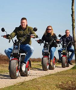 E-Chopper tour Deventer